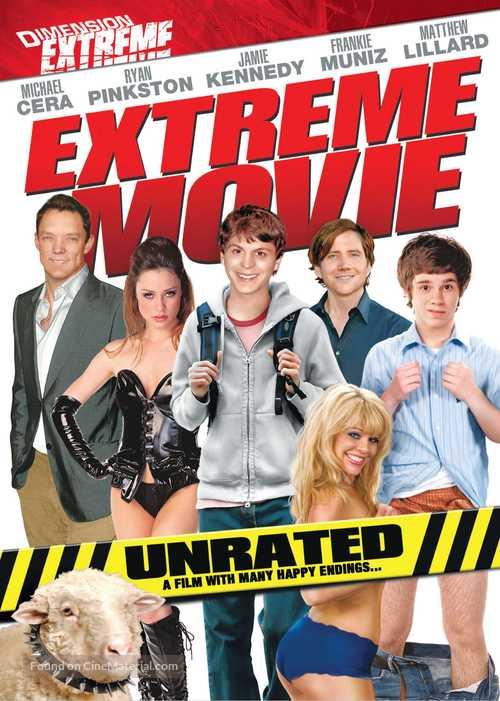 Extreme Movie - British DVD movie cover