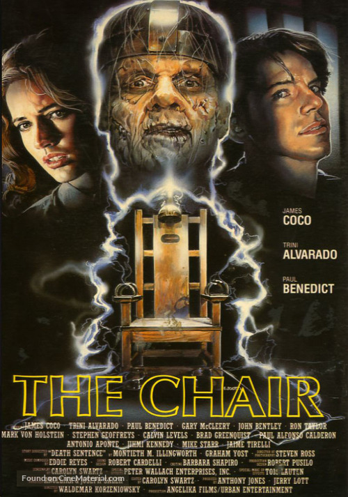 The Chair - German VHS movie cover