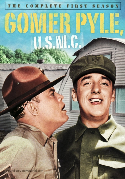 """Gomer Pyle, U.S.M.C."" - DVD movie cover"