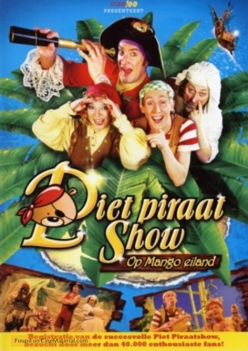 """""""Piet Piraat"""" - Belgian Movie Poster"""