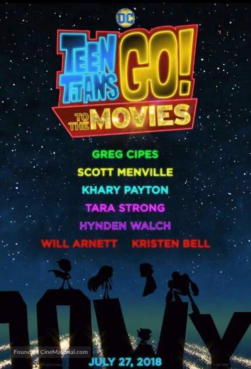 Teen Titans Go! To the Movies - Movie Poster