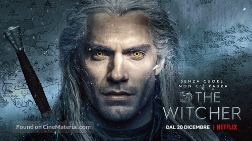 """""""The Witcher"""" - Italian Movie Poster"""