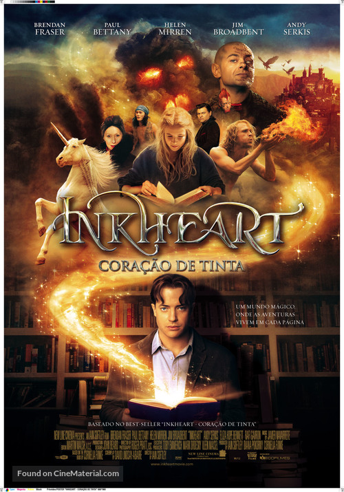 Inkheart - Portuguese Movie Poster
