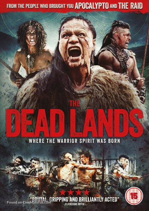 The Dead Lands - British DVD movie cover