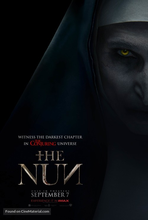 The Nun - Movie Poster