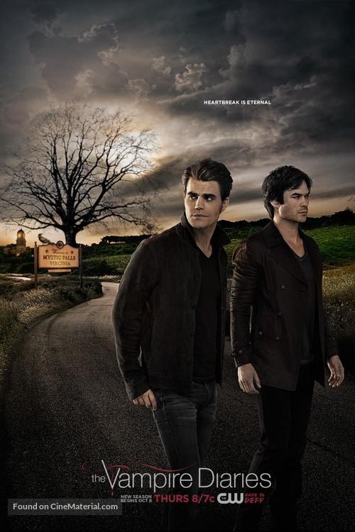"""The Vampire Diaries"" - Movie Poster"
