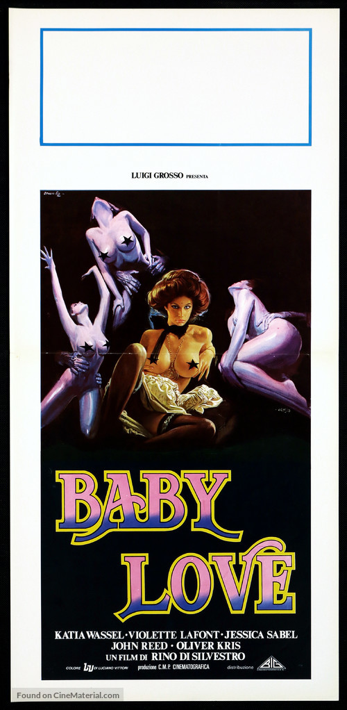 Baby Love - Italian Movie Poster