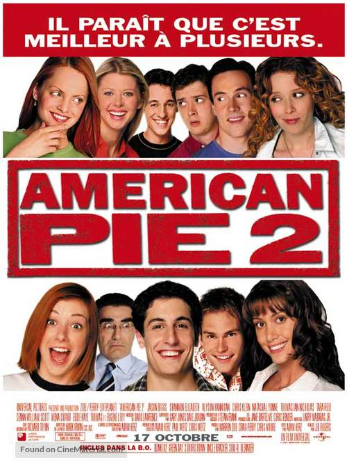 American Pie 2 - French Movie Poster