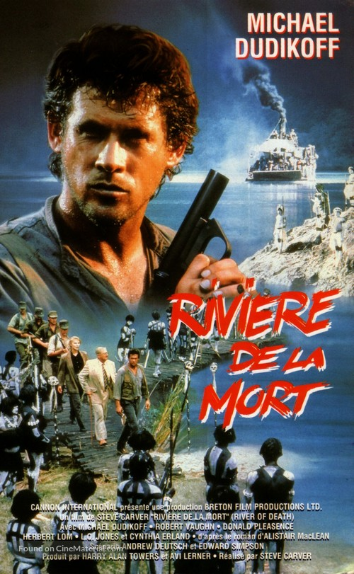 River of Death - French VHS movie cover