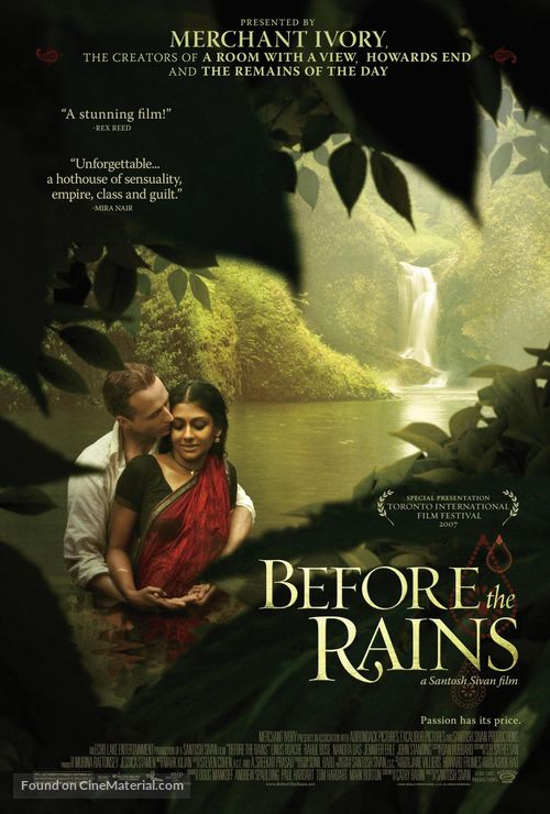 Before the Rains - poster