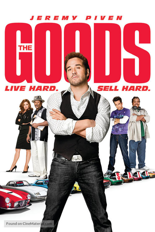The Goods: Live Hard, Sell Hard - British Movie Poster