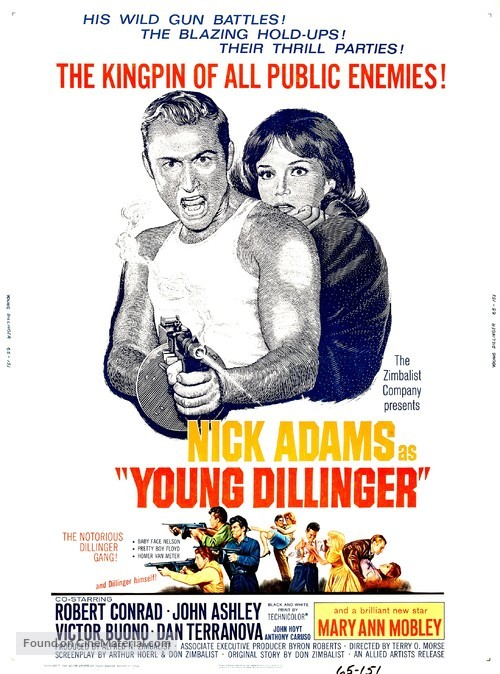 Young Dillinger - Movie Poster