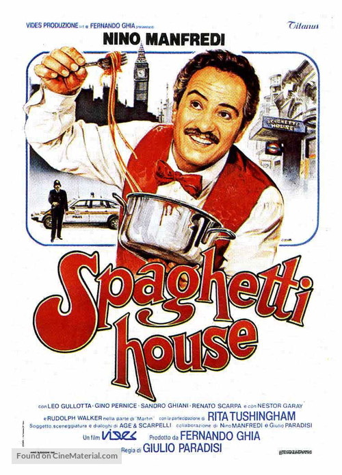 Spaghetti House - Italian Movie Poster
