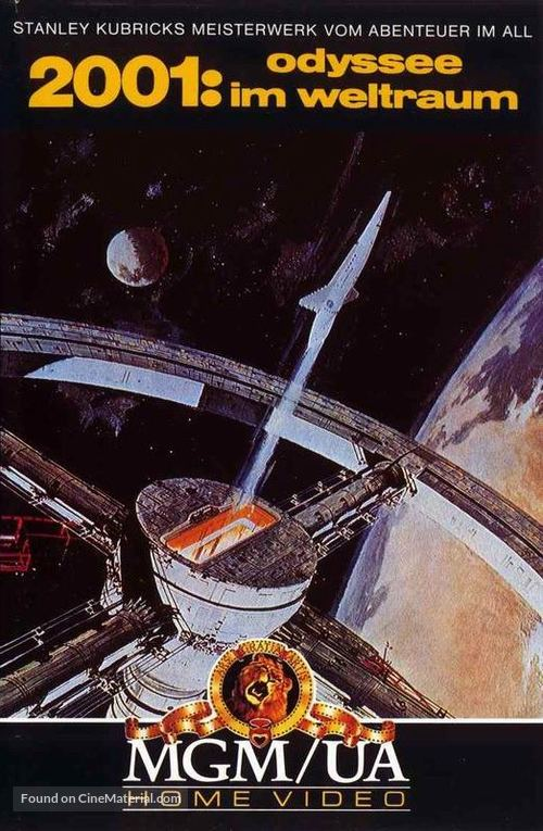 2001: A Space Odyssey - German Movie Cover