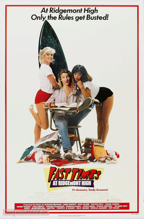 Fast Times At Ridgemont High - Movie Poster