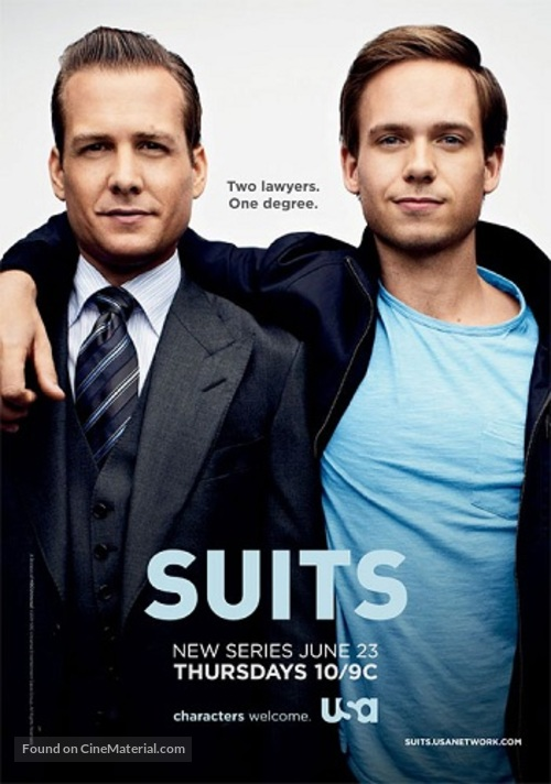 """""""Suits"""" - Movie Poster"""
