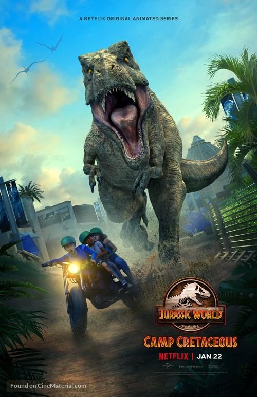 """Jurassic World: Camp Cretaceous"" - Movie Poster"