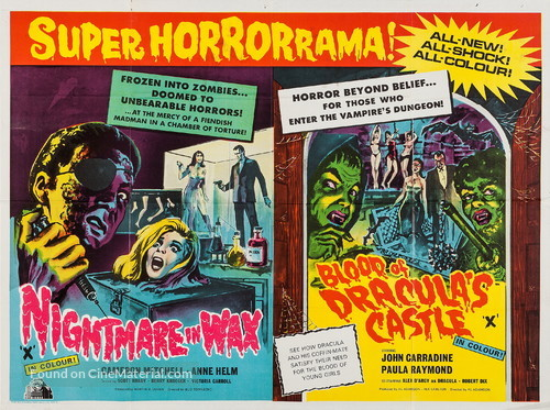 Blood of Dracula's Castle - British Combo movie poster