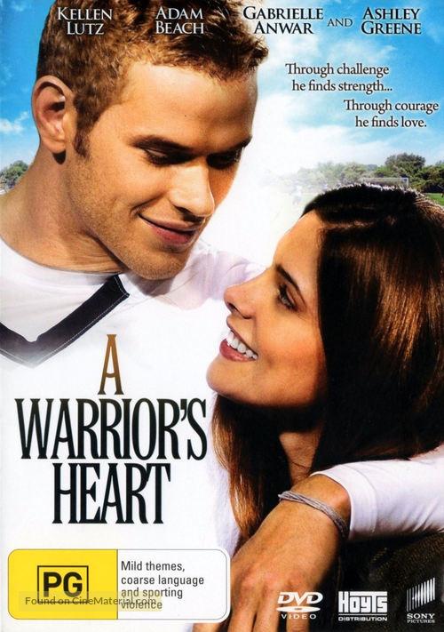 A Warrior's Heart - Australian DVD movie cover