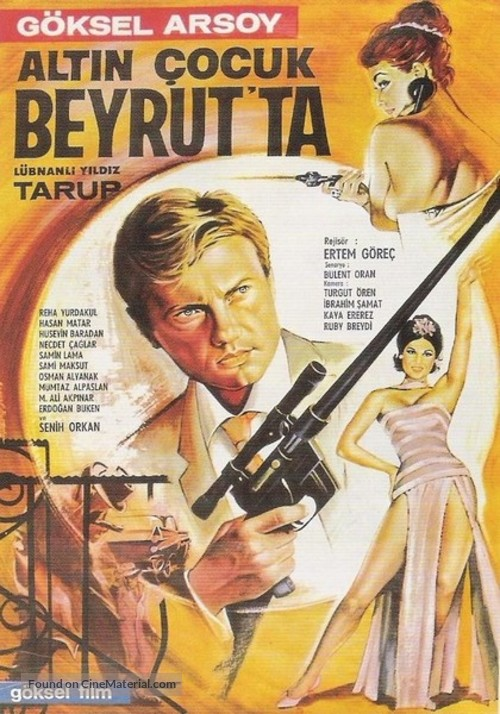Altin Çocuk Beyrut'ta - Turkish Movie Poster