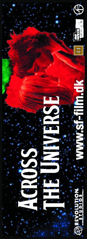 Across the Universe - Danish Movie Poster