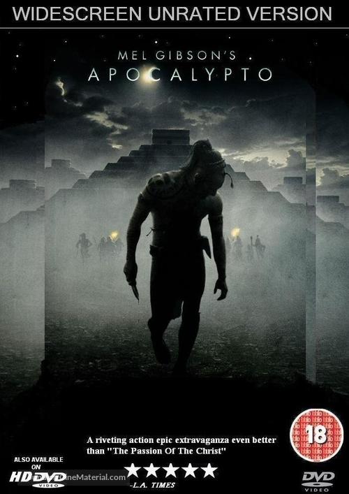 Apocalypto - British Movie Cover