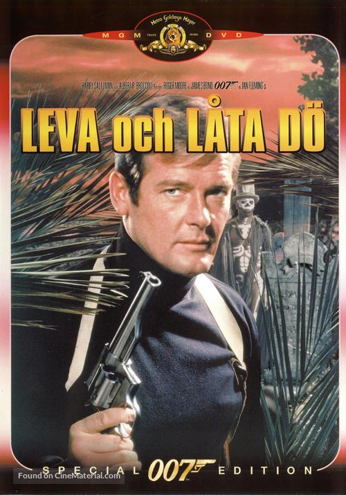Live And Let Die - Swedish DVD movie cover
