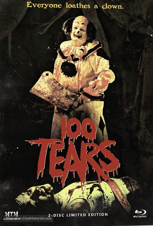 100 Tears - German Blu-Ray movie cover
