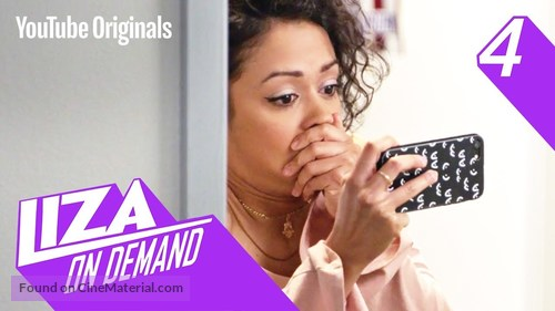 """""""Liza on Demand"""" - Video on demand movie cover"""
