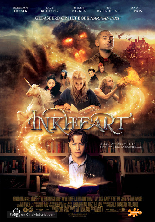 Inkheart - Dutch Movie Poster