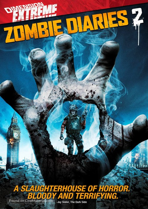 World of the Dead: The Zombie Diaries - DVD cover