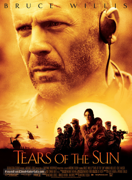 Tears Of The Sun - Movie Poster