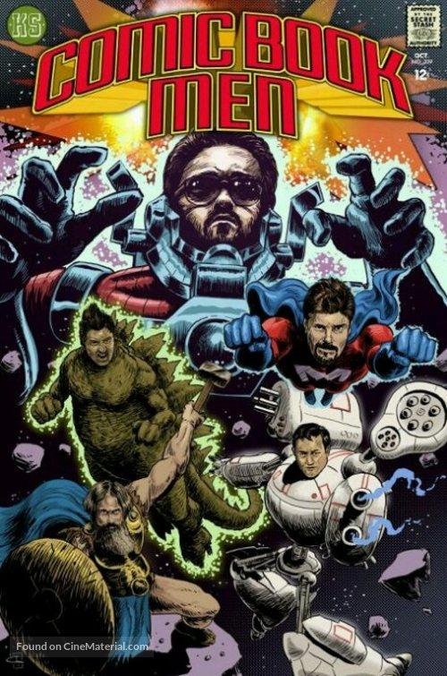 """Comic Book Men"" - DVD movie cover"