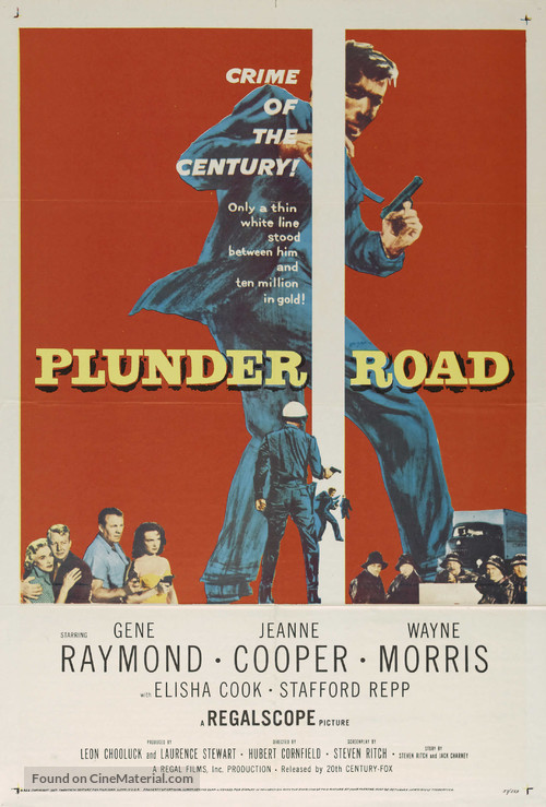 Plunder Road - Movie Poster