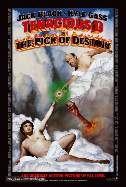 Tenacious D in 'The Pick of Destiny' - Movie Poster