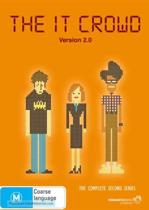 """The IT Crowd"" - Australian DVD movie cover"
