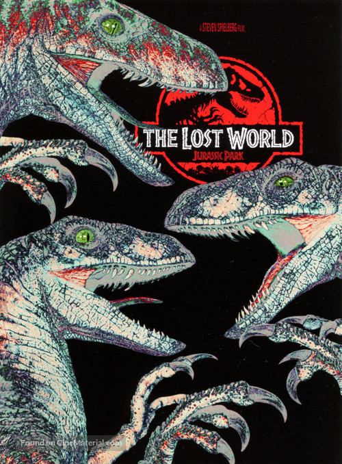 The Lost World: Jurassic Park - DVD movie cover