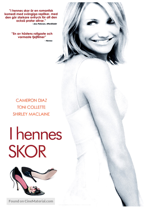 In Her Shoes - Swedish poster