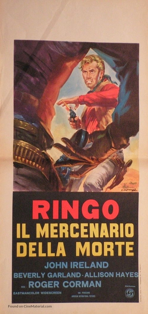 Gunslinger - Italian Movie Poster