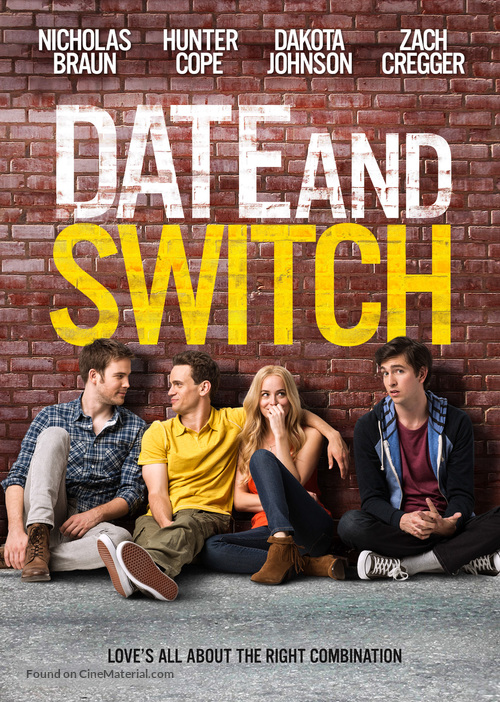 Date and Switch - Canadian DVD movie cover