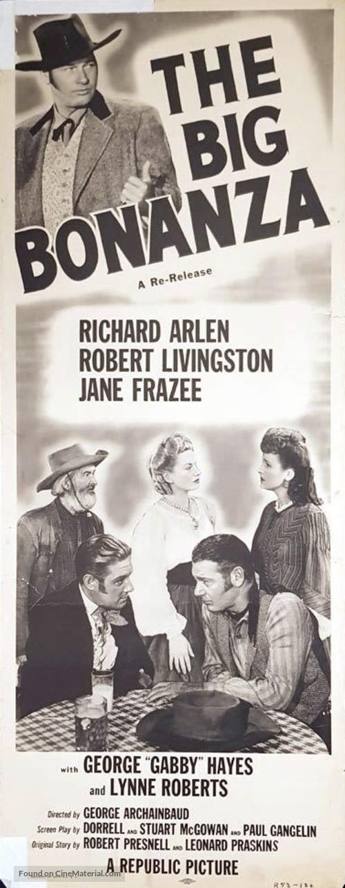 The Big Bonanza - Movie Poster