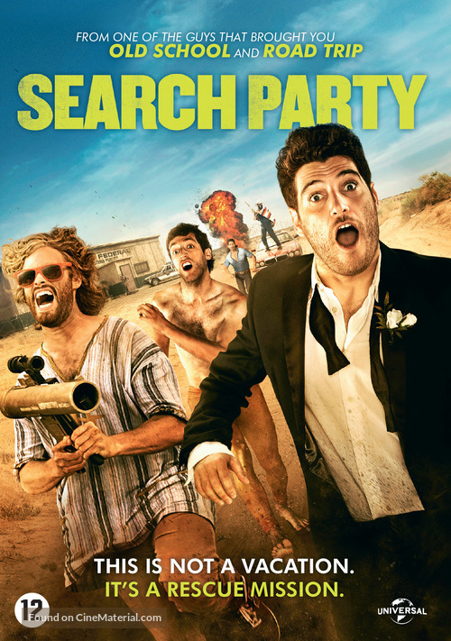 Search Party - Dutch DVD movie cover
