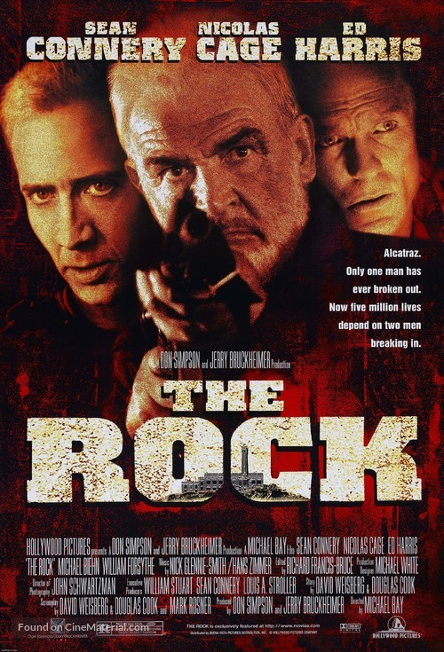 The Rock - Movie Poster