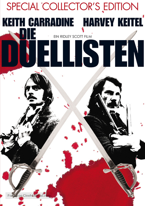 The Duellists - German Movie Cover