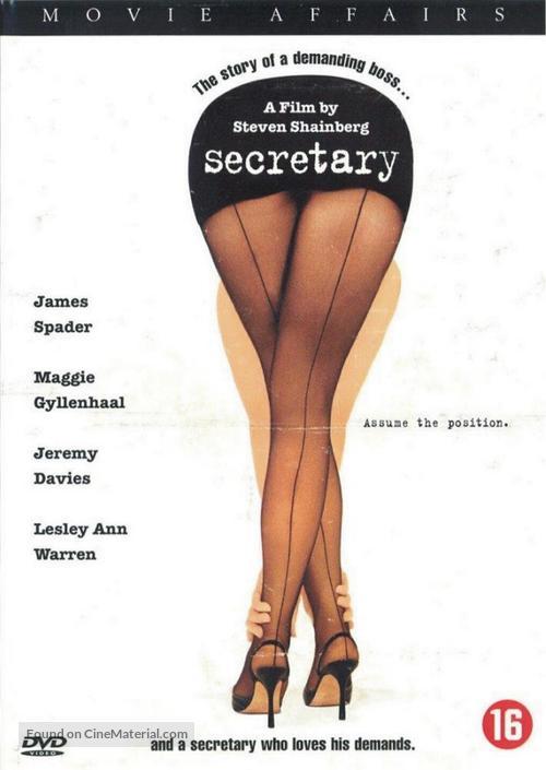 Secretary - Dutch DVD movie cover