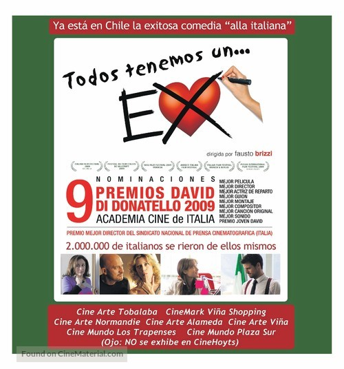 Ex - Chilean Movie Poster
