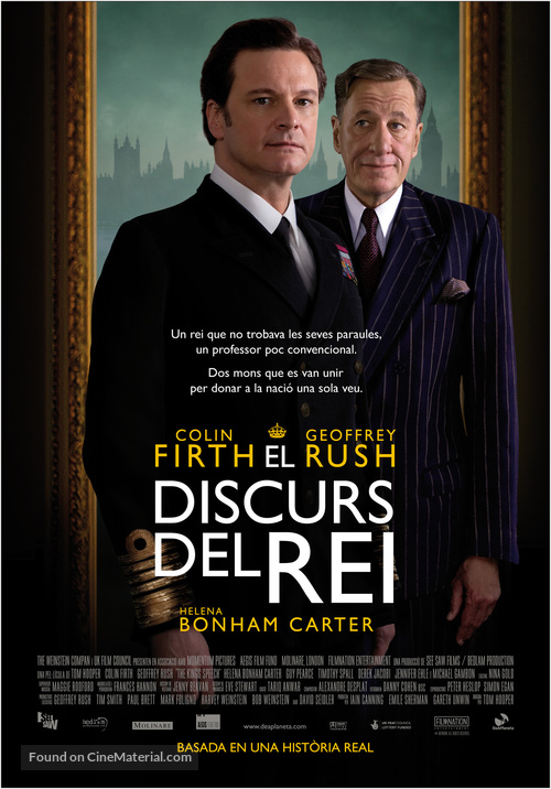 The King's Speech - Andorran Movie Poster