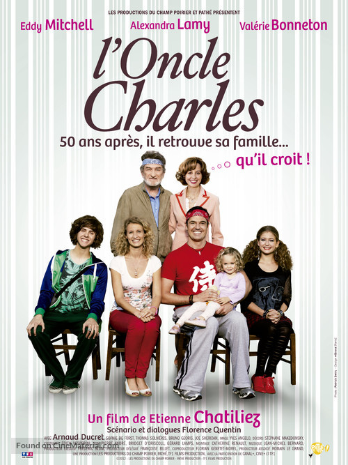 L'oncle Charles - French Movie Poster