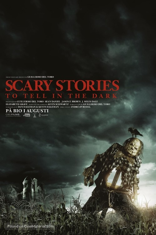 Scary Stories to Tell in the Dark - Swedish Movie Poster