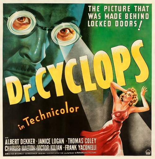 Dr. Cyclops - Movie Poster